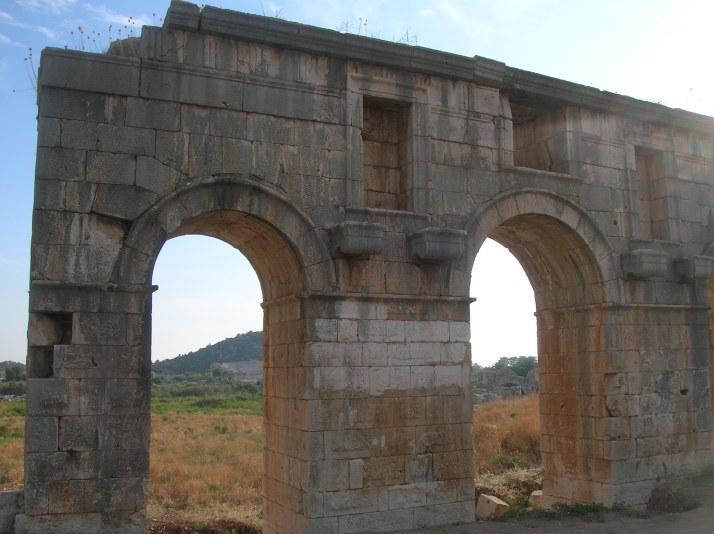 Ruinas en la playa de Patara