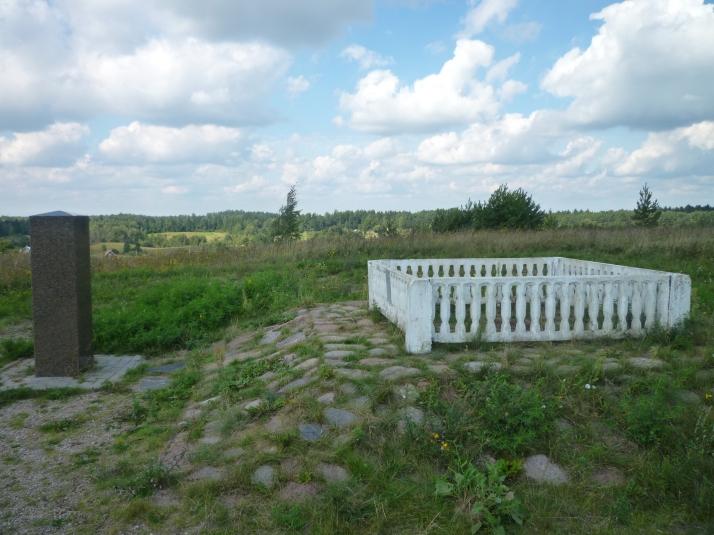 El Arco Geodesico de Struve cerca de Vilnius