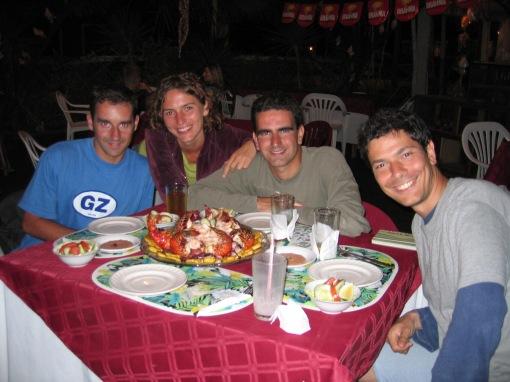 Pablo, Marta, yo, Pietro