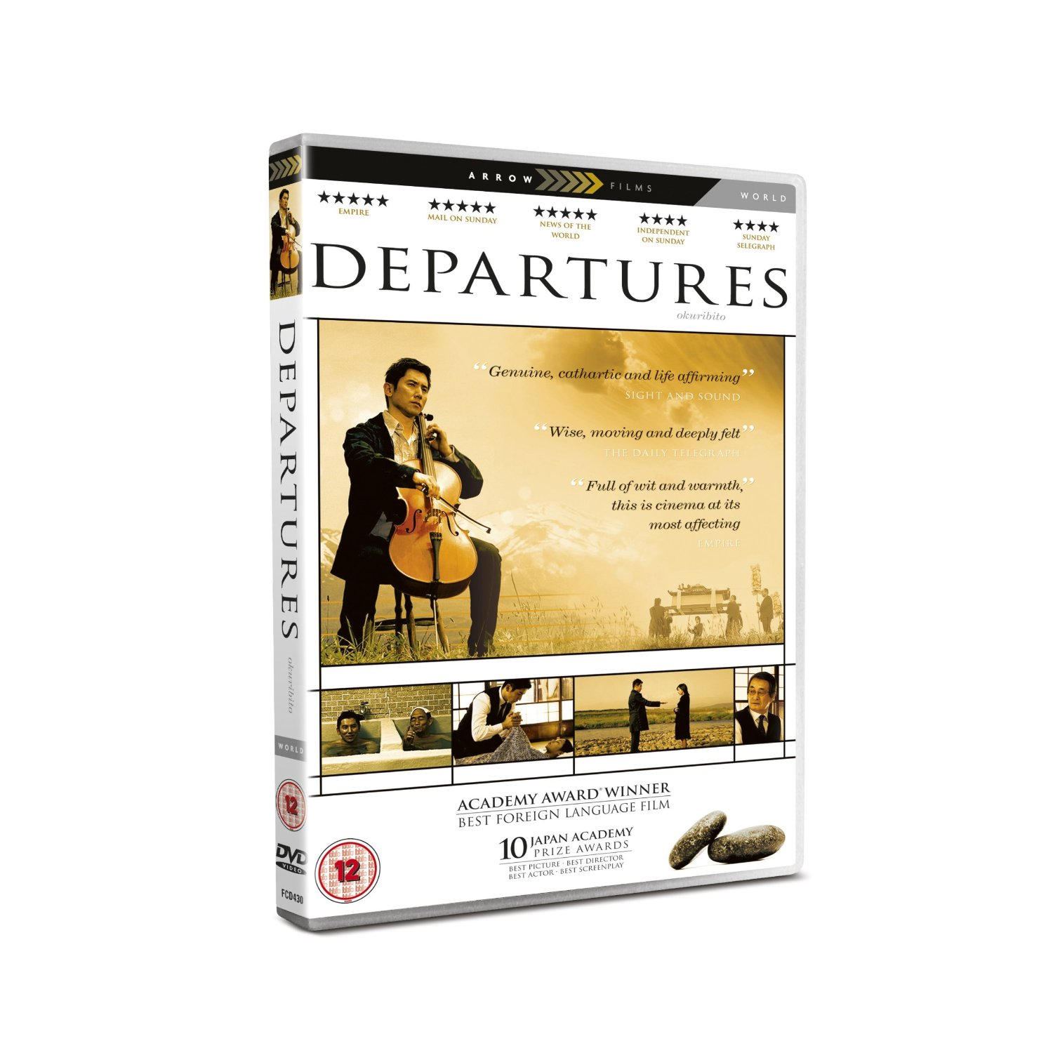 the departures a japanese film As depicted in the film departures (okuribito) contemporary japanese view of life and death  language film at the 81st academy awards the.