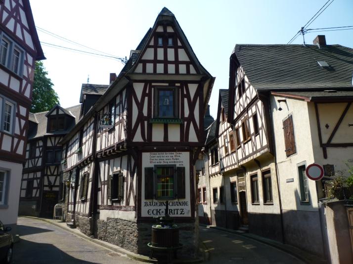 Casas tipicas en Braubach
