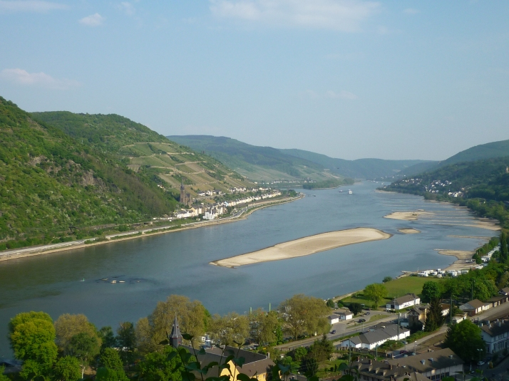 Vistas desde Burg Stahleck