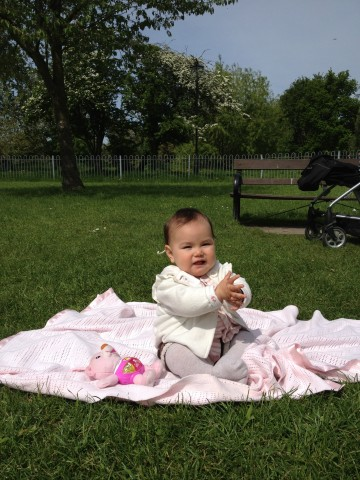 De picnic en Clapham Common