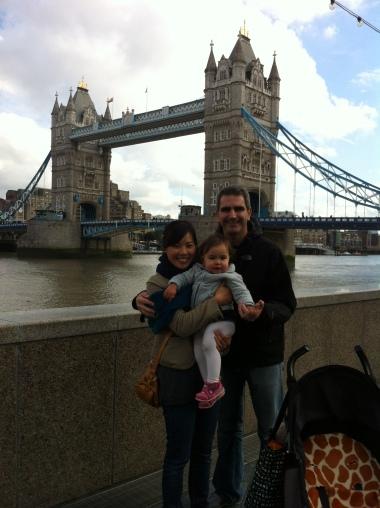 Foto familiar muy londinense
