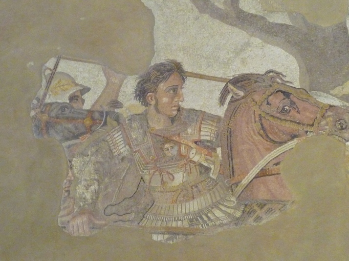 Mosaico Alejandro Magno