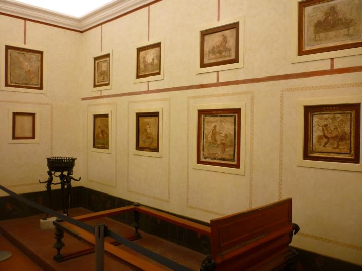 Una de las habitaciones del Gabinetto Segreto