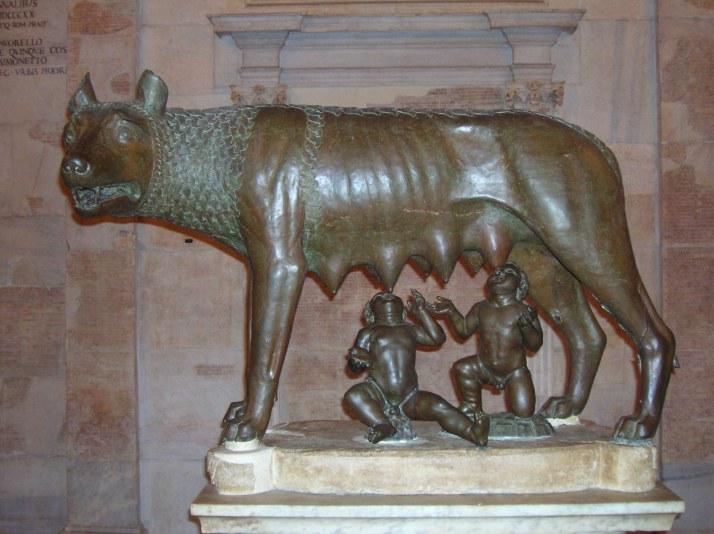La Loba, el emblema de la ciuda (Museos Capitolinos)