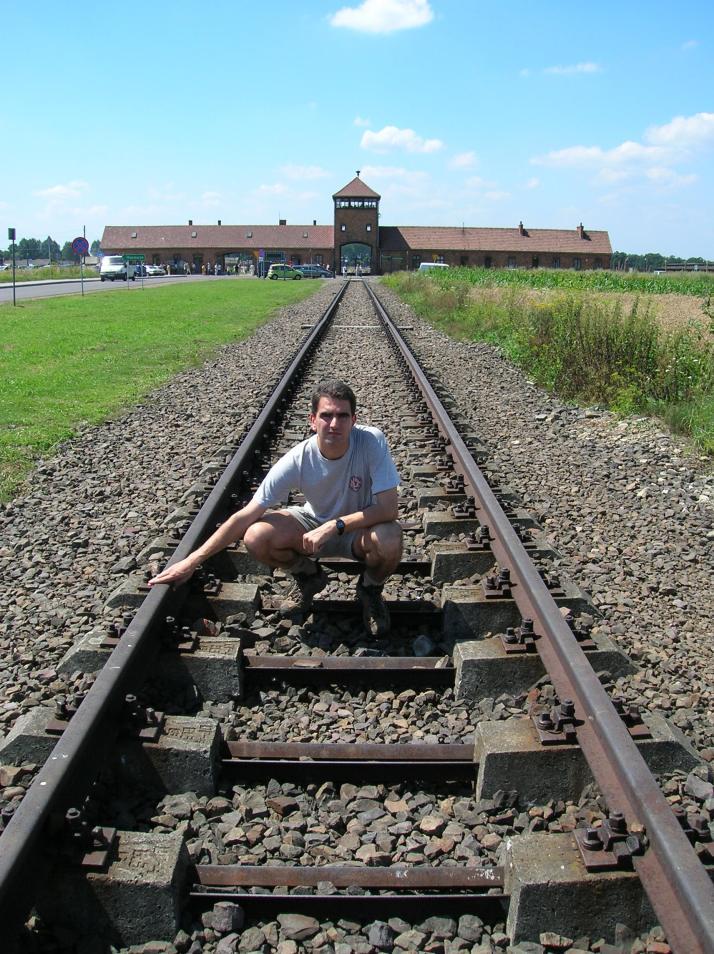 Entrada a Auschwitz II-Birkenaw