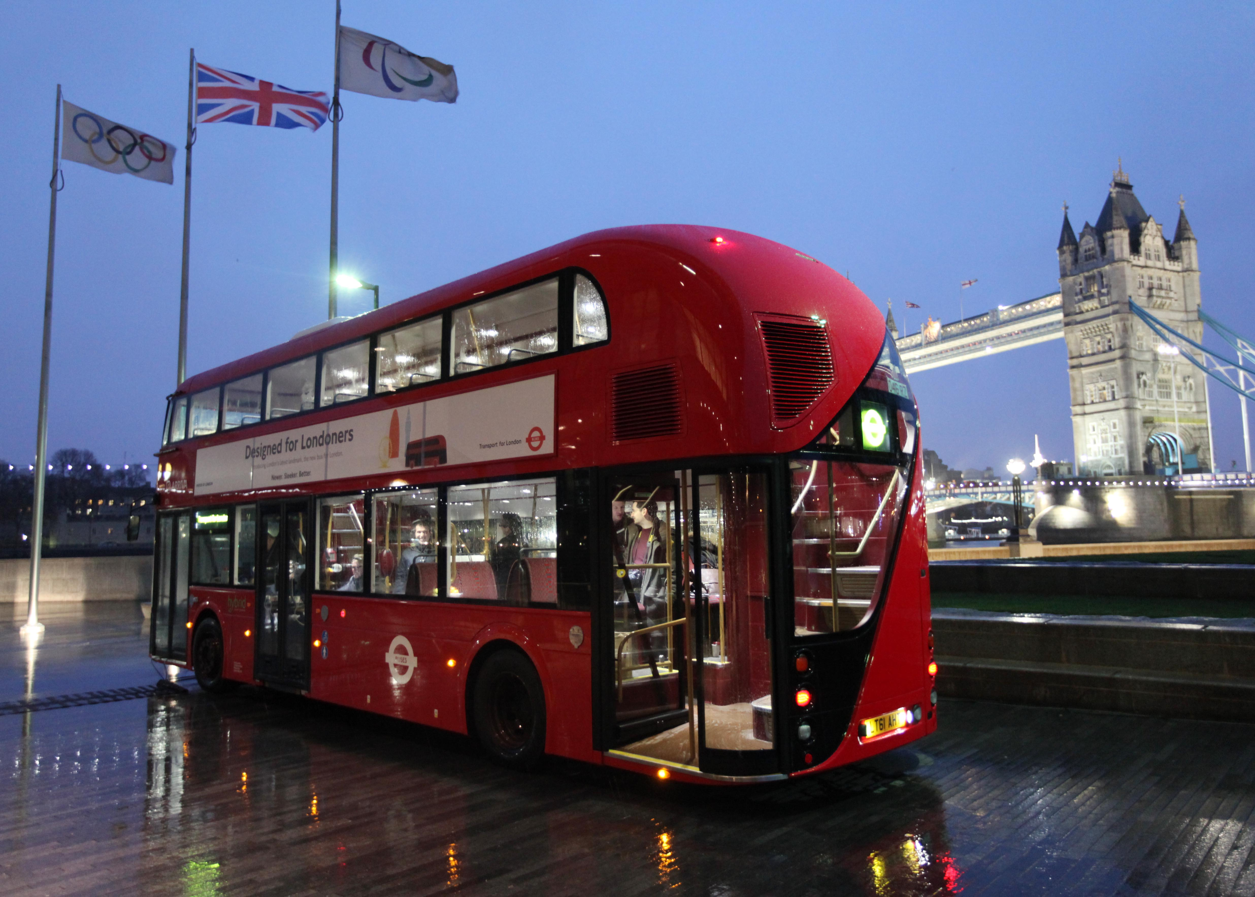 Londres zooms 8 los nuevos autobuses de dos pisos - Autobuses de dos pisos ...