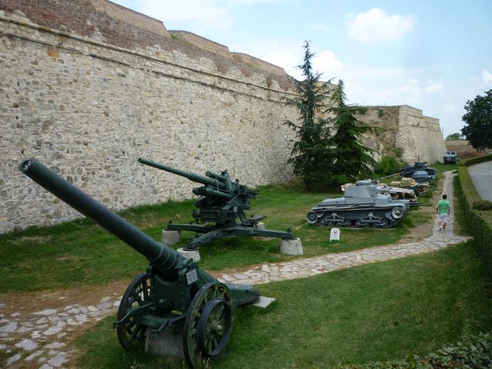 Algunas piezas del Museo Militar