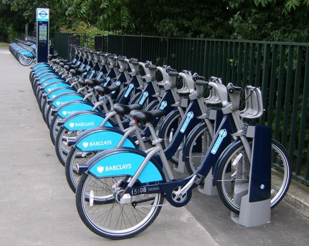 Las famosas Boris Bikes