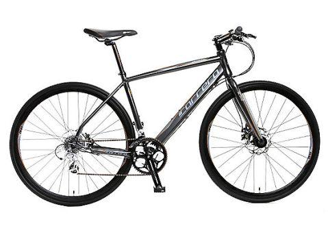 Mi actual bici: una Carrera Gryphon