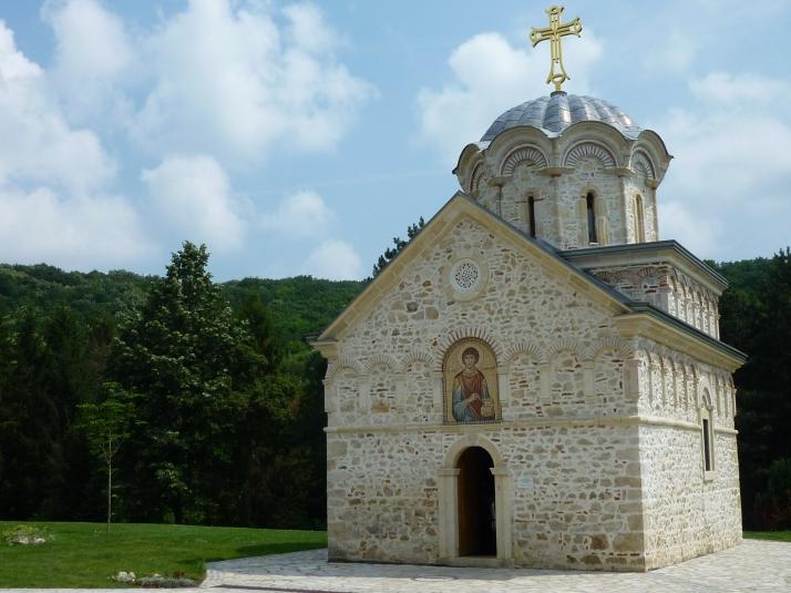El monasterio de Staro Hopobo
