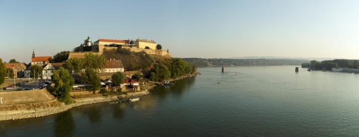 Petrovaradin y el Danubio. Foto de Devke en Flickr