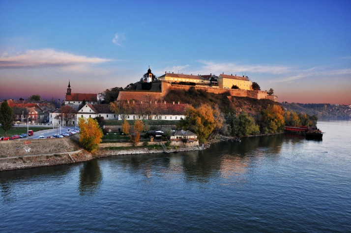 La fortaleza de Petrovaradin. Foto de my lala en Flickr