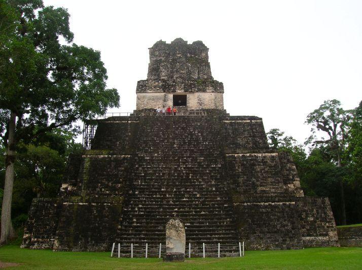 Los 4 en lo alto del Templo II