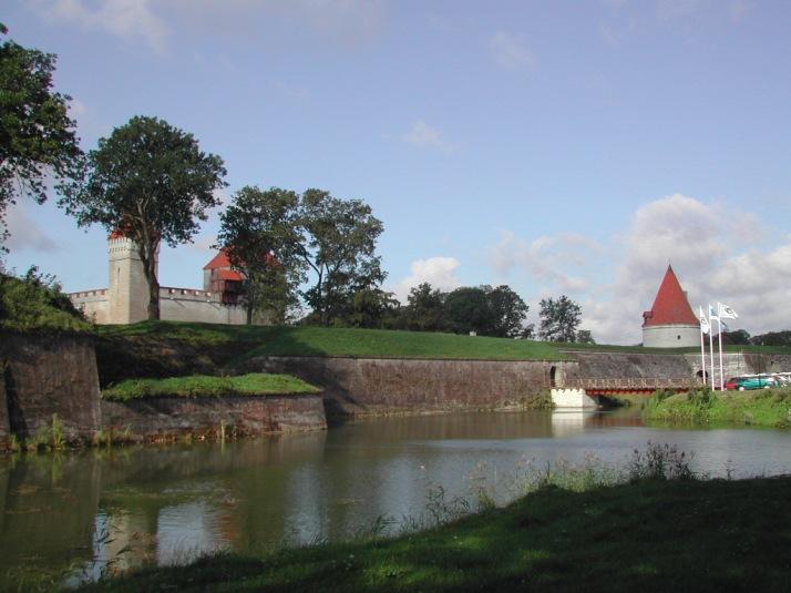El castillo d Kuressaare