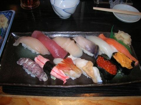 O segundo millor sushi du mondo