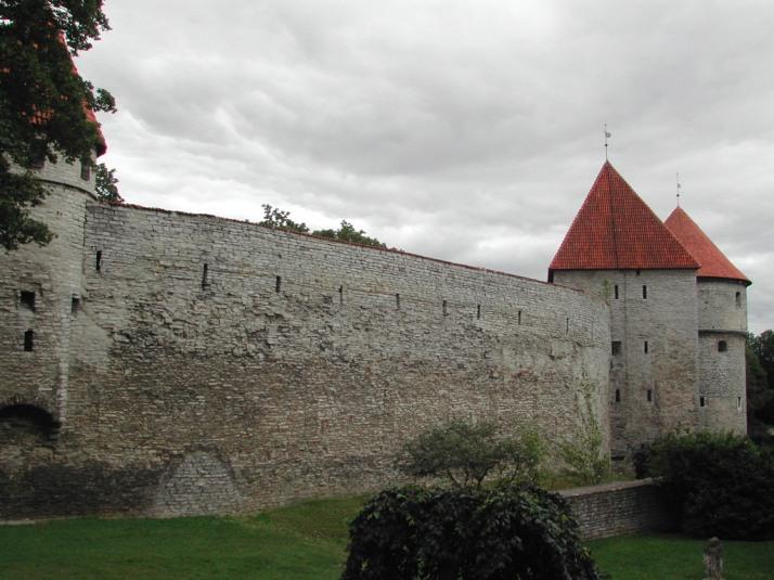 Las murallas de Tallinn, 2004