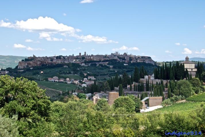 Panorámica de Orvieto. Foto de indigeno314 en Flickr