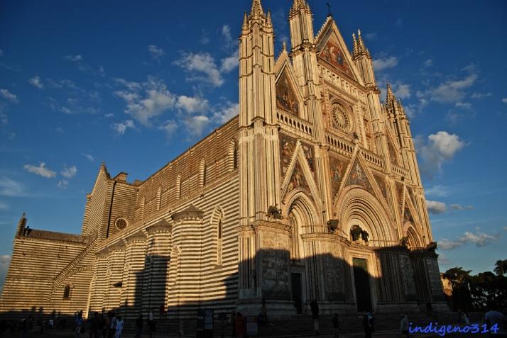 Catedral de Orvieto. Foto por indigeno314 en flickr