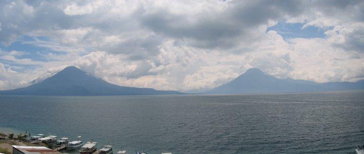 Panorámica Lago Atitlán Bajando 2