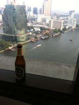 Una cerveza con vistas