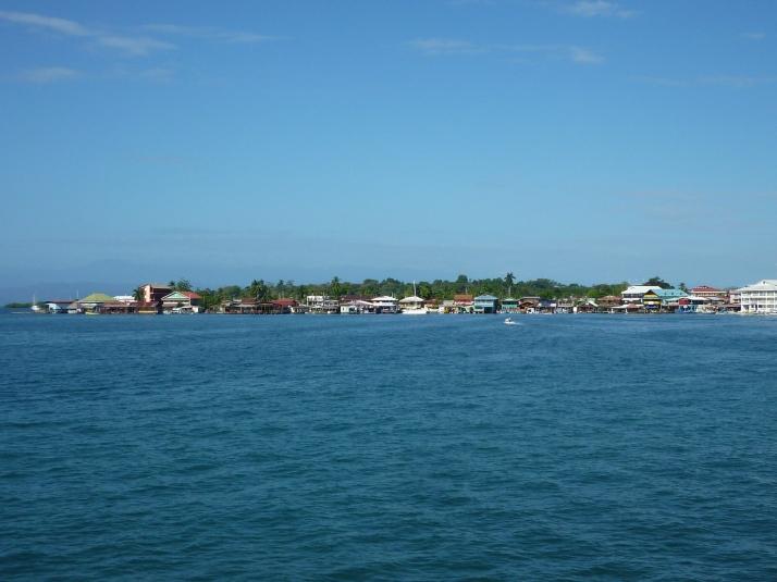 El skyline de Bocas desde Carenero