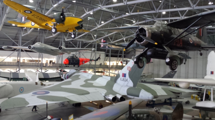 Panorámica del Hangar 1 AisSpace