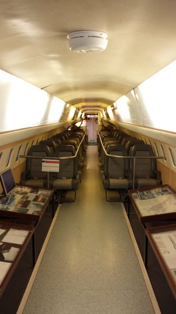 El Concorde 101 por dentro