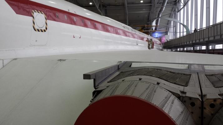 Los motores y el ala