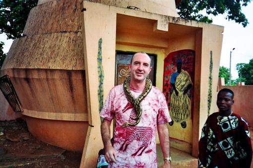 Templo de las Pitones, Benín, 2001
