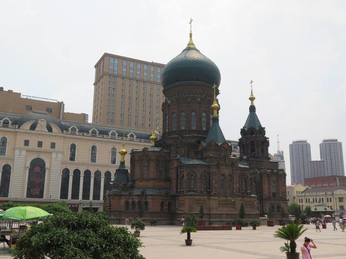 La catedral ortodoxa de Santa Sofia
