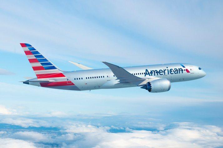 Boeing 787 Dreamliner de American Airlines