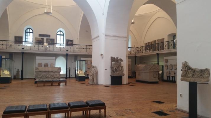 El interior del Museo Arqueológico Nacional